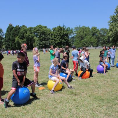 Activity on field day